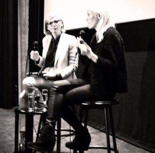 Interviewing Finnish actress Laura Birn at the Scandinavian Film Festival, Palace Como.
