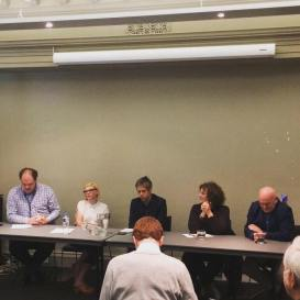 Appearing on panel 'The Cultural Cringe' for the Centre for Advancing Journalism's New News Conference, alongside Jason Di Rosso, Ramona Koval and Jonathan Green.