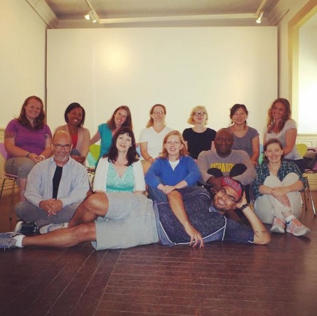 Essayist Leslie Jamison's nonfiction workshop at Disquiet International Literary Conference in Lisbon, Portugal.