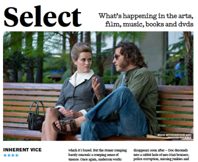 'Inherent Vice', The Big Issue, 2015